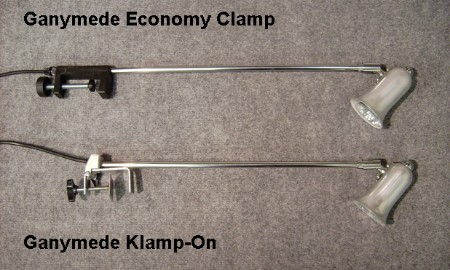 Ganymede Klamp-on & Economy Clamp