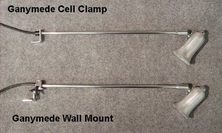 Ganymede Cell Clamp & Wall Mount