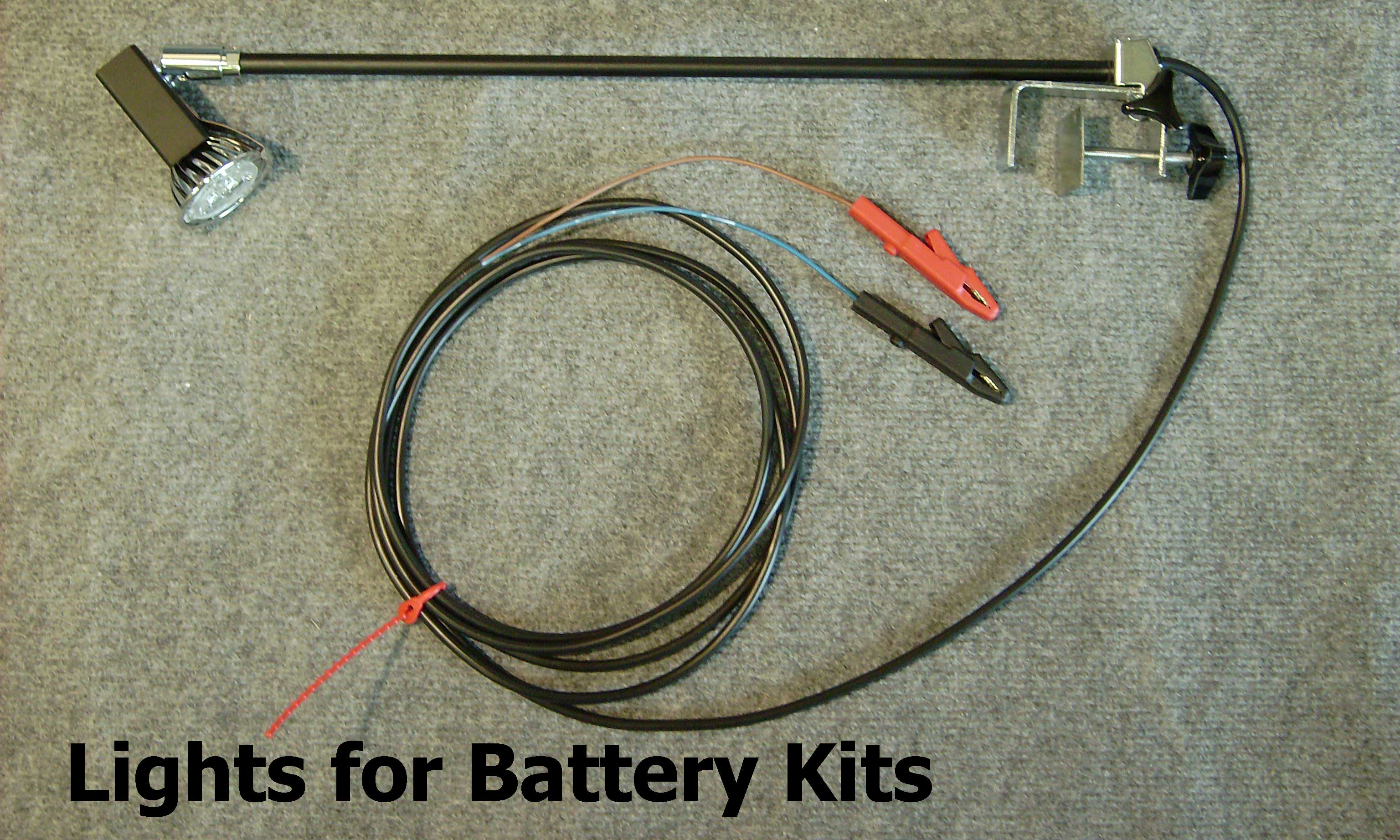 Lights for Battery Kits