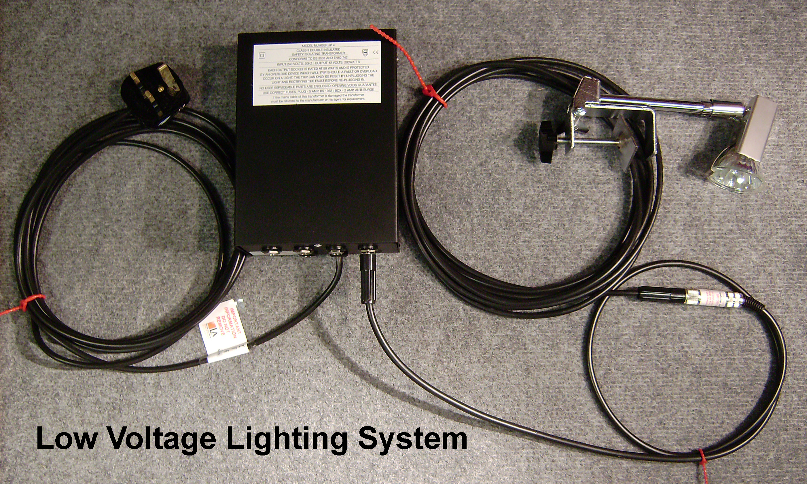 Low Voltage Lighting System